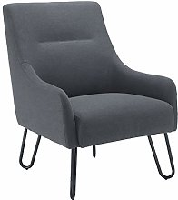 Office Hippo Garnet Reception Lounge Arm Chair,
