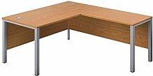 Office Hippo Goalpost Rectangular Desk with Right