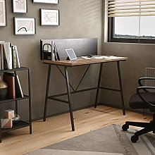 Office Hippo Home Office Desk with Backboard and