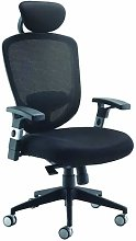 Office Hippo Mesh High Back Desk Chair with