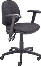 Office Hippo Mid Back Ergonomic Swivel Chair For