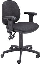 Office Hippo Mid Back Ergonomic Swivel Chair For