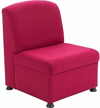 Office Hippo Modular Reception Chair, Fabric,