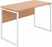 Office Hippo Narrow Desk, Computer Desk for Small