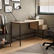 Office Hippo Office Desk With 2 Drawers, Chalked