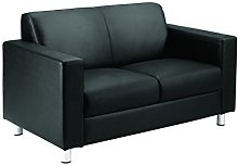 Office Hippo Premium Real Leather Reception Sofa