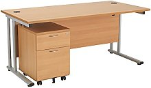 Office Hippo Professional Cantilever Office Desk