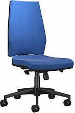 Office Hippo Sicily High Back Desk Chair, Fabric,