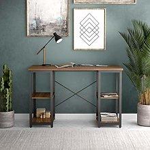 Office Hippo Soho Desk with 4 Shelves, Engineered