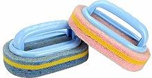 Ogquaton 1PCS Flexible Plastic Sponge Cleaning
