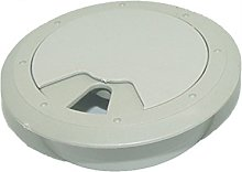 Ogquaton Cable Grommet Wiring Hole Cap Computer