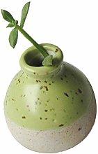 Ogquaton Handmade Mini Ceramic Flower Vase Flower
