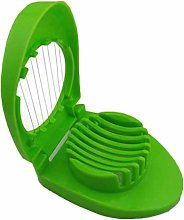 Ogquaton Kitchen Mini Egg Slicer Egg Wedger Kiwi