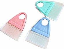 Ogquaton Mini Cleaning Broom Brush and Dustpan Set