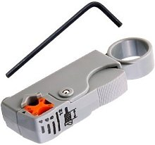 Ogquaton Rotary Coax Coaxial Cable Stripper Cutter