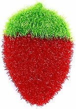 Ogquaton Sponge Dishwashing Sponge Cute Strawberry