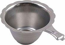 Ogquaton Stainless Steel Tea Filter Tea Leaf Drain