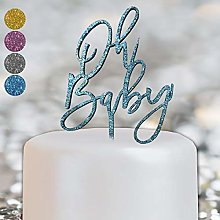Oh Baby Shower Gender Reveal Boy Girl Cake Topper