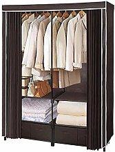 OH Canvas Wardrobe Double Cheap Wardrobe Simple
