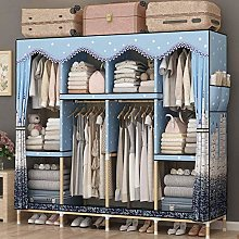 OH Fabric Wardrobe Modern Wardrobe Composition of