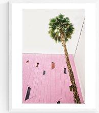 Oh Fine! Art - Palm Wood Framed Print & Mount, 52
