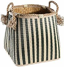 OH Large-Scale Natural Shopping Basket High
