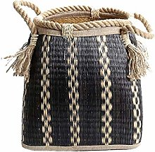 OH Natural High Capacity Basket Shopping Wicker