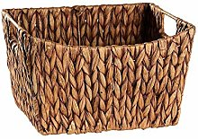 OH Natural Manual Basket Shopping Water Hyacinth