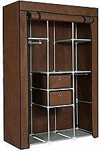 OH Single Wardrobe Solid Color Combination Storage
