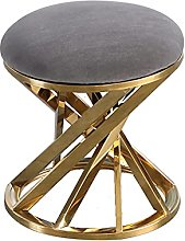 OH Stainless Steel Light Low Stool, Bedroom