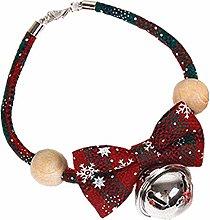 OHHCO Flea and Tick Collars Handmade Cats Bow Tie