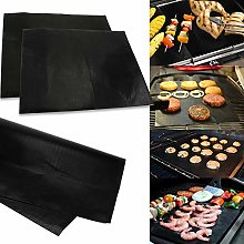 OhhGo 2Pcs BBQ Grill Mat Non Stick Barbecue Baking