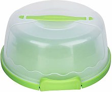 OhhGo Portable Round Clear Cake Carrier Storage