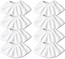 OHIFAN 8 Pack Replacement Microfibre Cover Pads