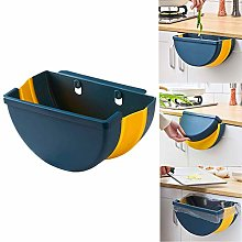 OHILBBY Foldable Hanging Kitchen Bin for Over the