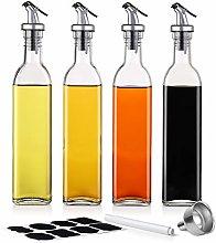 Oil Bottle - 500ml Glass Olive Oil Bottles Vinegar