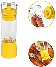 Oil Dispenser,Dressing with Brush Portable,for