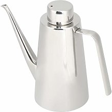 Oil Dispenser, Stainless Steel Silver Durable