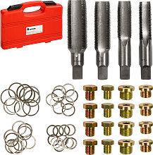 Oil drain plug repair kit - silver