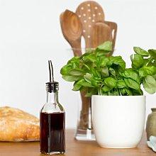 Oil/Vinegar Bottle With Tapor Pourer 6 oz. Symple