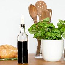 Oil/Vinegar Utensil Bottle Set With Tapor Pourer
