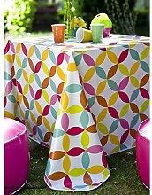 Oilcloth Tablecloth 140x 200cm Multi-Coloured
