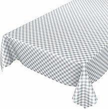 Oilcloth, tablecloth, wax, washable, chequered,