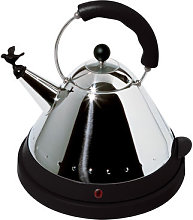 Oisillon Electric kettle by Alessi Black