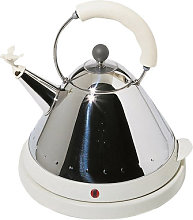Oisillon Electric kettle by Alessi White