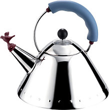 Oisillon Kettle by Alessi Blue