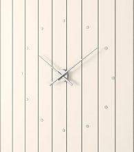 Oj Wall Clock Nomon Colour: Silver, Size: Large