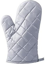 OKMJ Heat resistant gloves, silver, scald and