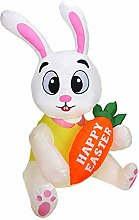 Okngr Easter Inflatable Bunny, 4.92ft Easter
