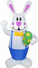 Okngr Easter Inflatable Bunny, 5.9ft Easter